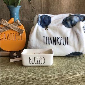 Rae Dunn Grateful, Thankful, Blessed